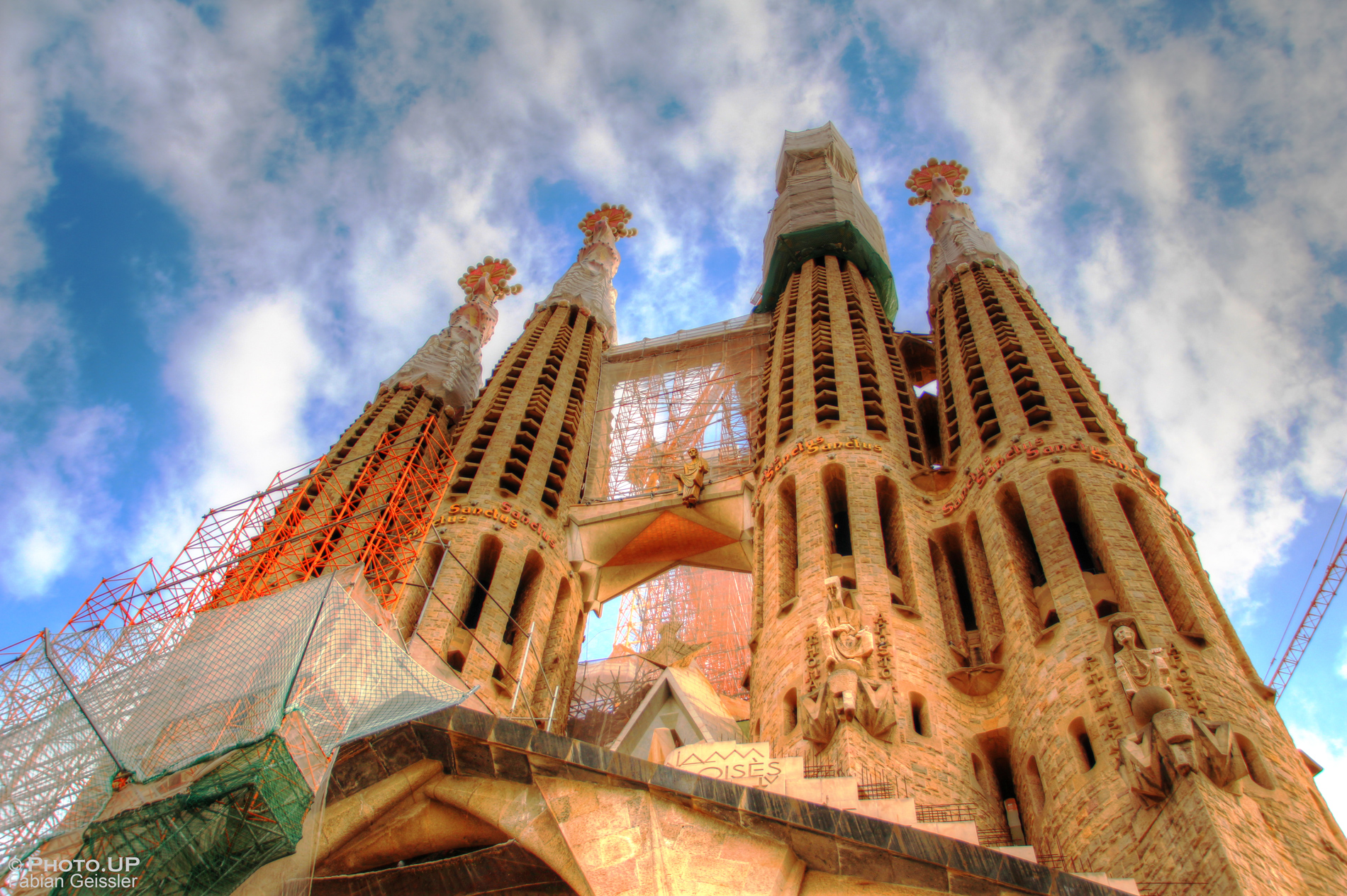 Sagrada Familia in Barcelona - Passionsfassade, UnnamedProduction, Photo.UP, Fabian Geissler